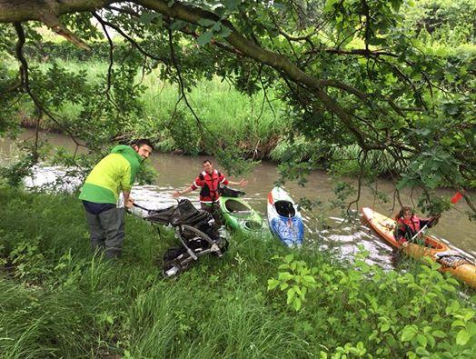 Dokładnie za tydzień ruszamy z  X Jubileuszowe Wielkie Sprzątanie Rzek…