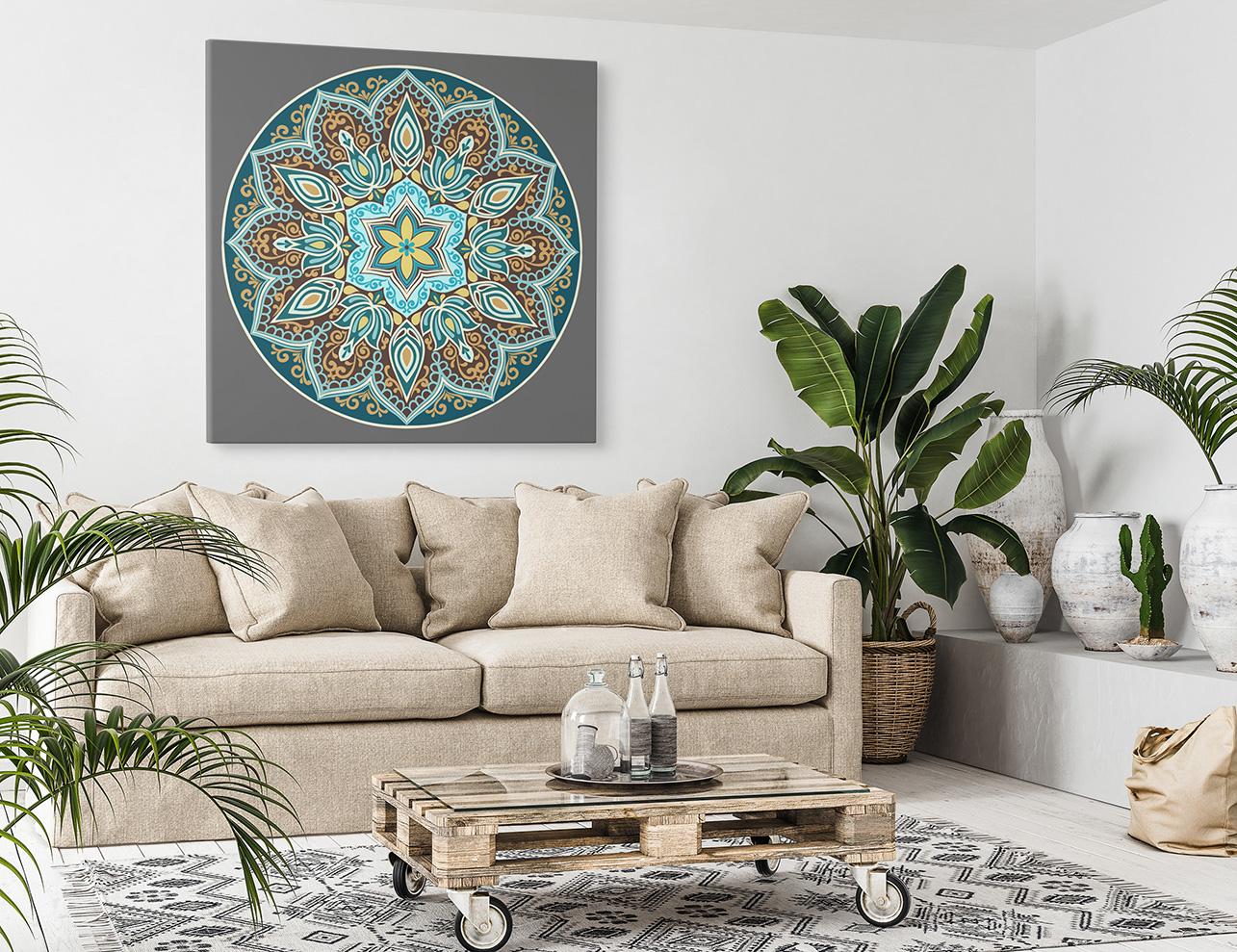 obraz abstrakcja mandala