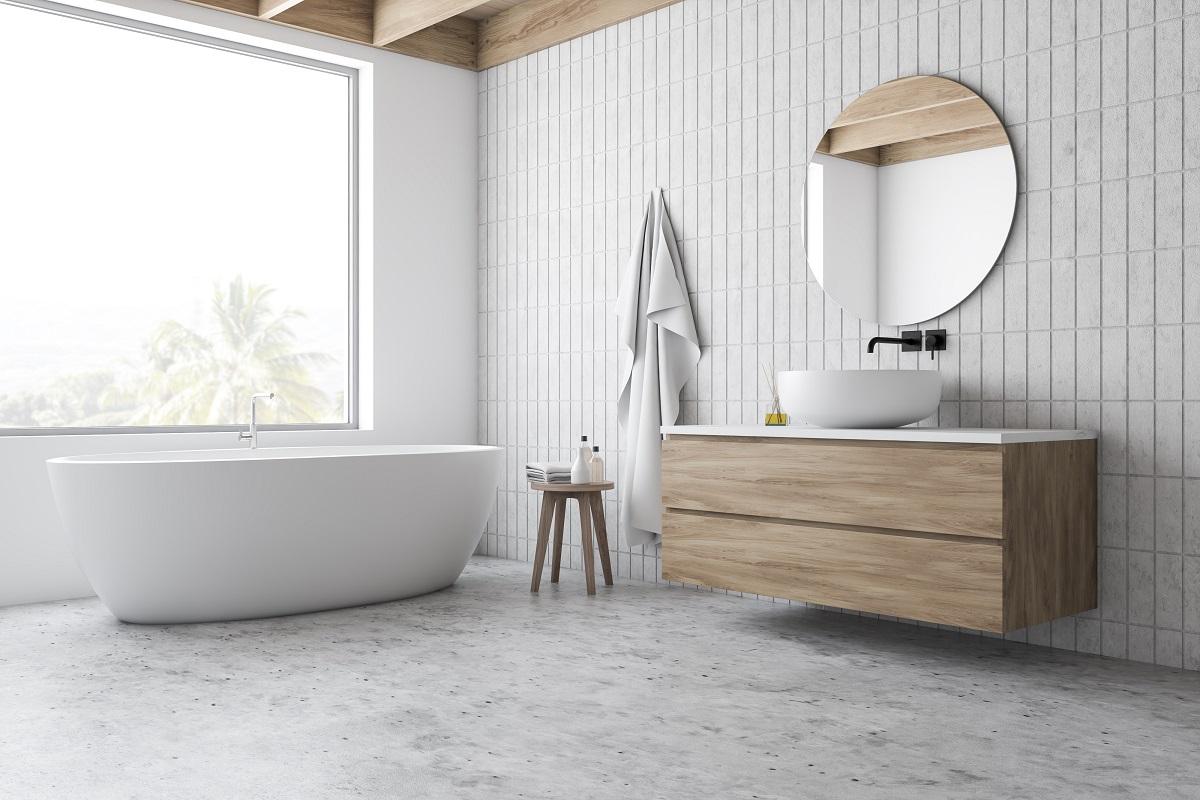 Spieki kwarcowe w kuchni i salonie oraz łazience - wielkoformatowe płyty i ich łączenie
